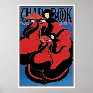 Poster Print: Art Nouveau - Bradley - Thanksgiving
