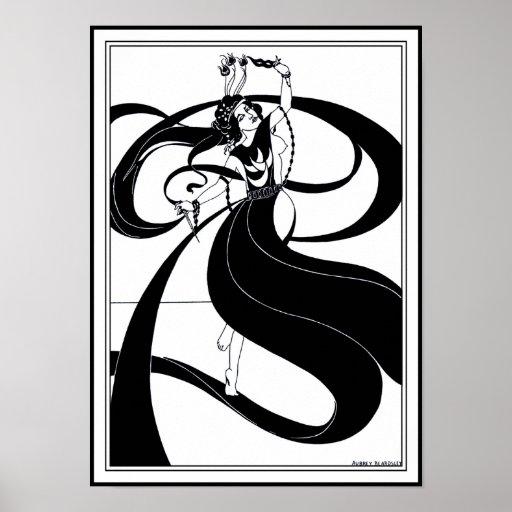 Poster/Print:  Beardsley Illustration