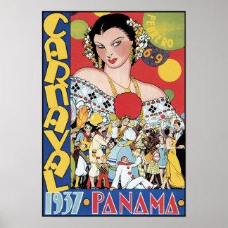 Poster/Print: Carnival 1937 Panama