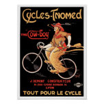 """Poster/Print: Cycles Tnomed """"The Cowboy"""" Poster"""