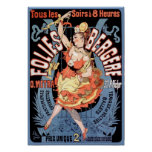 Poster/Print: Folies Bergere - Cheret