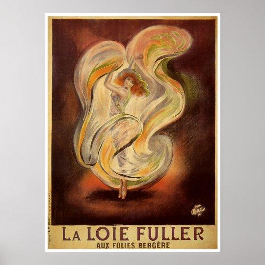 Poster Print: Folies Bergere La Loie Fuller