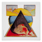 """Poster/Print: """"Foment Triangle"""" Poster"""