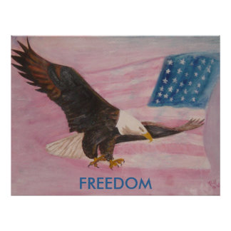 Poster Print - FREEDOM