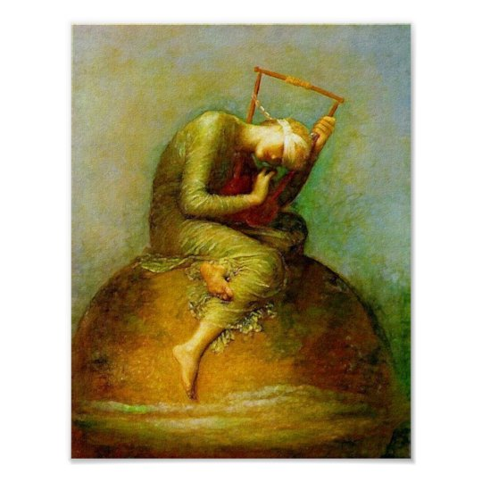 Poster/Print: Hope - George Watts Poster