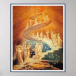 Poster/Print:  Jacob's Ladder - William Blake Poster