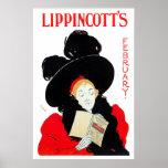 Poster Print: Lippincott's February