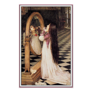 Poster Print: Mariana in the South - Waterhouse