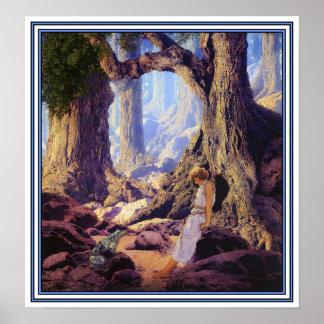 Poster print The Enchanted Prince
