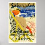 Poster Print: Toulouse Lautrec  - Salon des Cent