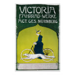 Poster Print: Victoria Bicycles