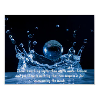 Poster Print - waterdrops