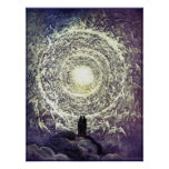 Poster/Print: White Rose by Gustave Dore Poster