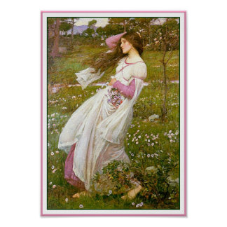Poster/Print: Windflowers - by John Waterhouse Poster