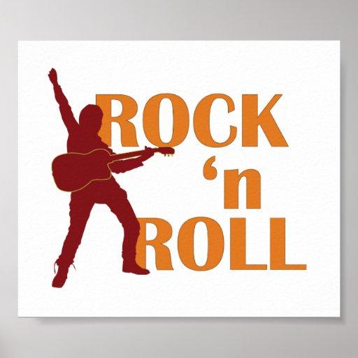 poster - rock Roll (music design)
