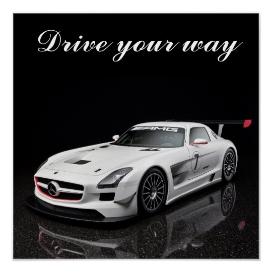 Poster SLS Drive your way
