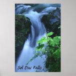 Poster: Sol Duc Falls Poster