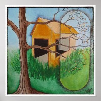 POSTER: Springtime Barn Poster