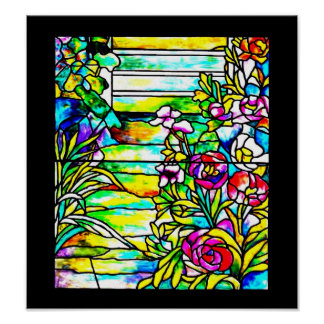 Poster-Stained Glass-Louis Tiffany 112 Poster