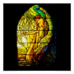 Poster-Stained Glass-Tiffany 6 Poster