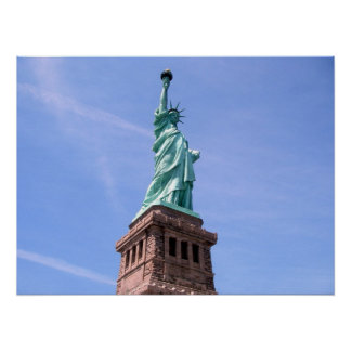 Poster Statue of Liberty - Side View