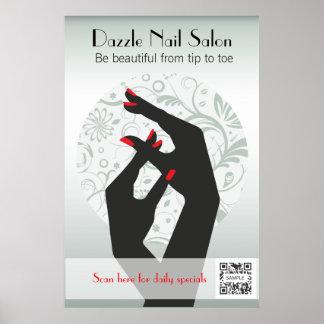 Poster Template Nail Salon