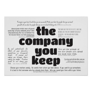 Poster - The Company You Keep