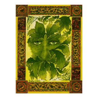 Poster The Green Man