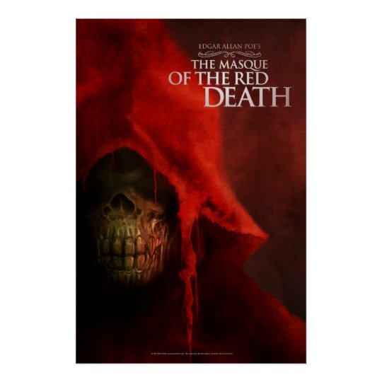 """Poster """"The Masque of the Network Death """""""
