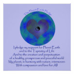 Poster -  The Planet Earth Pledge