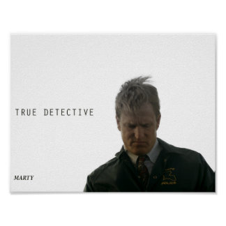 Poster - True Detective [Marty]