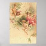 Poster-Vintage Angels