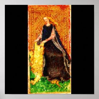 Poster-Vintage Astrology/Divination-Tarot 25 Poster