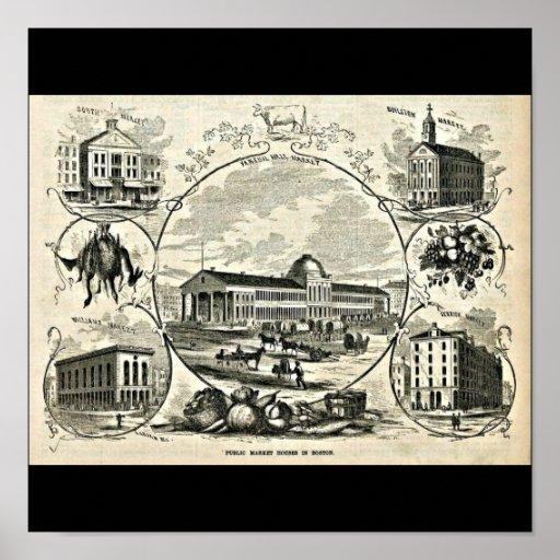 Poster-Vintage Boston Artwork-30