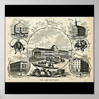 Poster-Vintage Boston Artwork-30 Poster