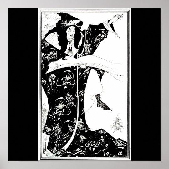 Poster-Vintage Illustration-Aubrey Beardsley 7 Poster