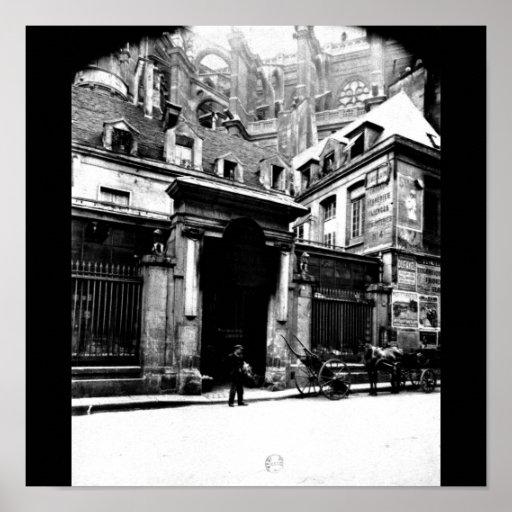 Poster-Vintage Photos-Eugène Atget 3 Poster