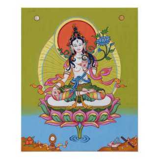 POSTER White Tara -Long Life- starting from $14.25