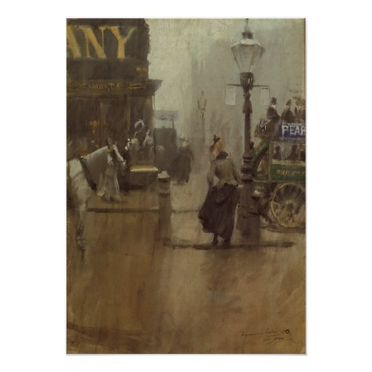 Poster With Anders Zorn Painting