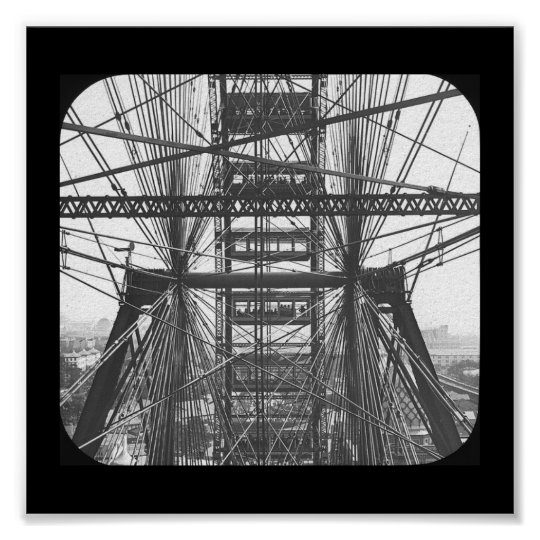 Poster-World's Fair-Ferris Wheel 1893 Poster