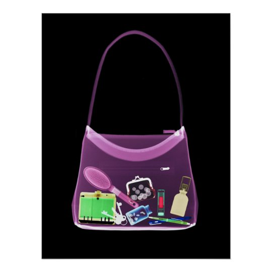 POSTER - X-RAY PURSE ORIGINAL PINK