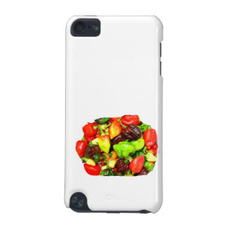 Posterized Hot Pepper Assortment Picture iPod Touch 5G Case