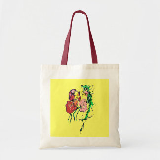 POSTERS,ART PRINTS,FLOWERS, SURREAL BUDGET TOTE BAG