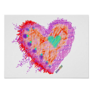 Posters, Prints - Happy Heart