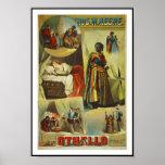 "Posters Theatre Vintage ""Othello"""