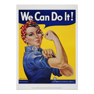 Posters: We Can Do It   (Version 2) Poster