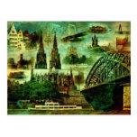Postkarte  Postcard  Kölner Dom