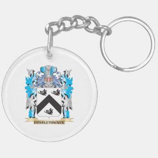 Postlethwaite Coat of Arms - Family Crest Acrylic Key Chain