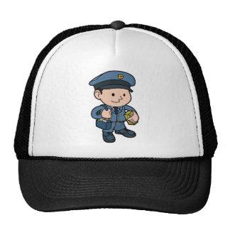 postman or Mail-man Mesh Hat