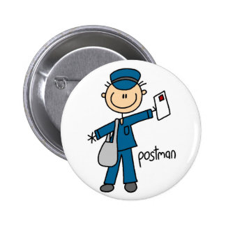 Postman Stick Figure Button